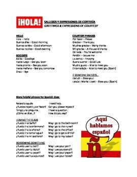 Spanish 3 Resource Packet
