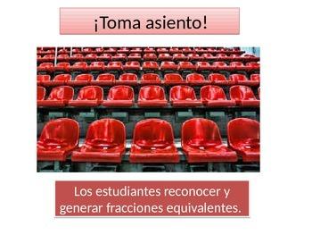 Spanish 4th grade Chapter 6- Math performance task