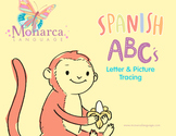 Spanish Alphabet- Letter & Picture Tracing