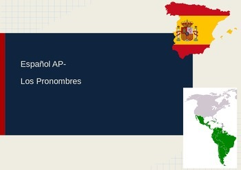 Spanish AP- Pronouns Presentation