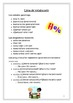 Spanish- Activity Packet for Beginners
