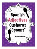 "Spanish Adjectives ""Cucharas"" (Spoons)"