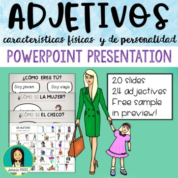 Spanish Adjectives PowerPoint