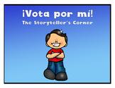 Spanish Adjectives Story - ¡Vota por mí!