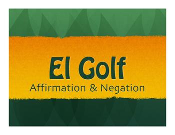 Spanish Affirmation and Negation Golf