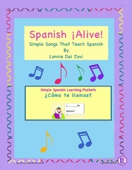 Spanish ¡Alive! Musical Mini-lessons – ¿Cómo te llamas? By