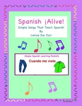 Spanish ¡Alive! Musical Mini-lessons –Cuando me visto (Clo