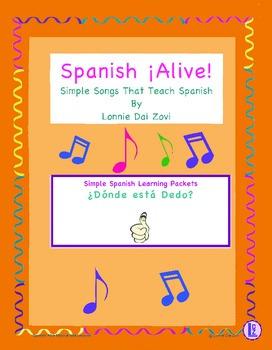 Spanish ¡Alive! Musical Mini-lessons – ¿Dónde está Dedo?
