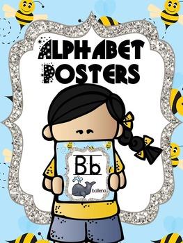 Spanish Alphabet - Bee Theme