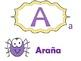 Spanish Alphabet Bulletin Board and Presentation-animal theme