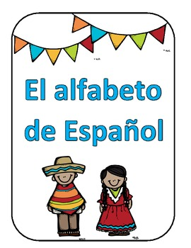 Spanish Alphabet Cards for Your Classroom