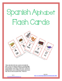 Spanish Alphabet Flash Cards