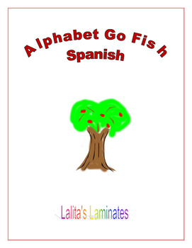 Spanish Alphabet Go Fish