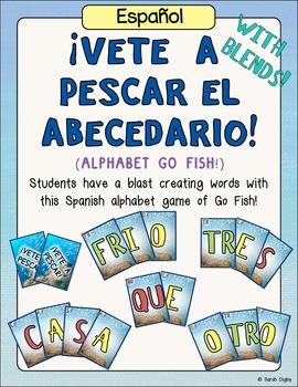 Spanish Alphabet Go Fish Game (¡Vete A Pescar!)
