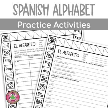 Spanish Alphabet PACKET