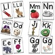 Spanish Alphabet Posters & Flash Cards