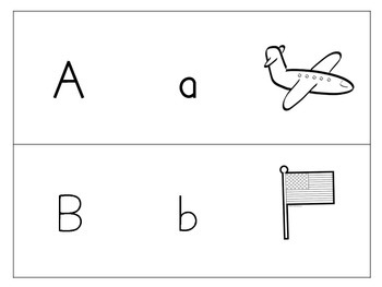 Spanish Alphabet tracing sheets with pictures!