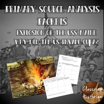 Spanish American War Primary Source Packets