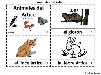 Spanish Arctic Animales 2 Emergent Readers - Animales del Artico