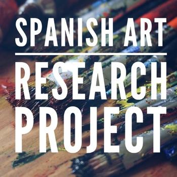 Spanish Art, Artist, Museum Project