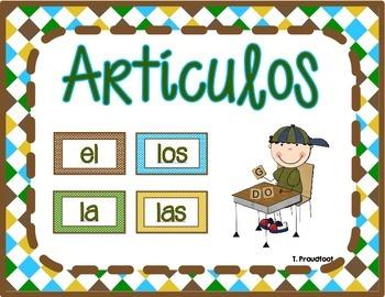 Spanish Articles (Articulos)