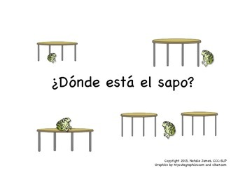 Spanish Articulation Prepositions in Sentences with Syllable Dots