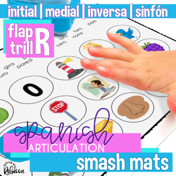 Spanish Articulation R Smash Mats