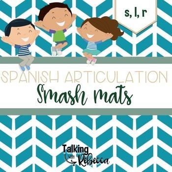 Spanish Articulation Smash Mats Bundle: S, R, L