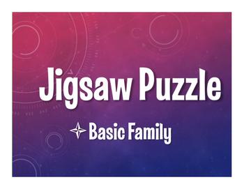 Spanish Basic Family Jigsaw Puzzle