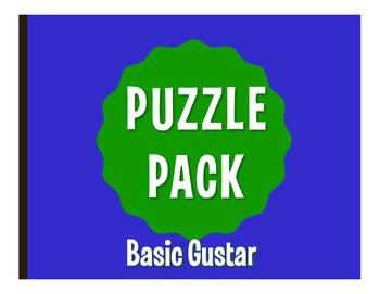 Spanish Basic Gustar Puzzle Pack