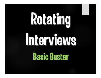 Spanish Basic Gustar Rotating Interviews