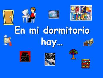 Spanish Teaching Resources. Bedroom Furniture PowerPoint P