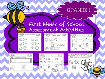 Spanish Beginning of the Year Assesments