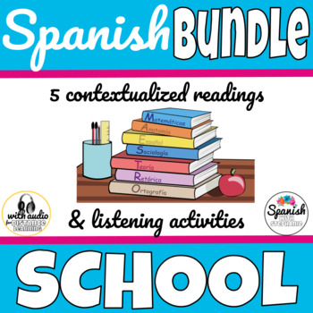 Spanish Readings: School Bundle