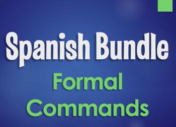 Spanish Bundle:  Formal Commands