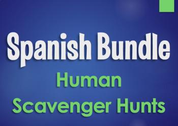 Spanish Bundle:  Human Scavenger Hunts