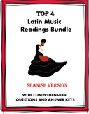 Música y baile Lecturas ~ Latin Music and Dance Reading Bundle