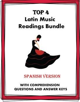 Música y baile Lecturas ~ Latin Music and Dance Bundle ~ 5