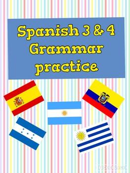 Spanish Bundle: reflexive verbs