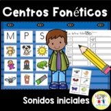 Spanish: Centros foneticos 001: Initial Sound Picture Sort
