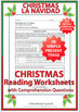 Spanish Christmas - 21 Reading Comprehension Worksheets in