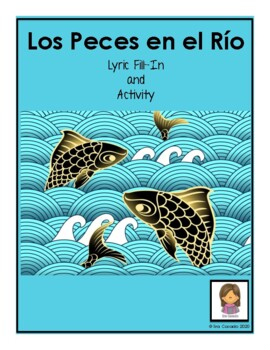 Spanish Christmas Carol Lyric Fill-in Los Peces en el Rio