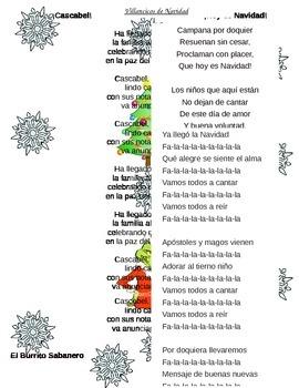 Spanish Christmas Carol Lyrics