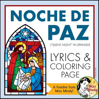 Spanish Christmas Carol Noche de Paz Silent Night Song Col