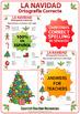 Spanish Christmas Spelling Worksheet - La Navidad