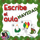 Spanish Christmas Write the Room Bundle