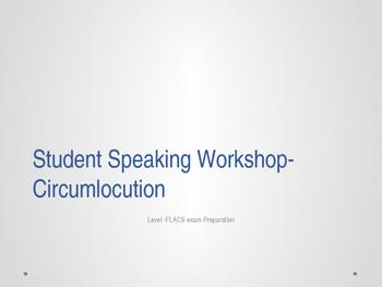 Spanish Circumlocution Presentation