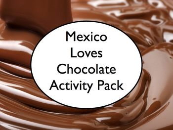 Spanish Class Mexico Loves Chocolate Activity - Article, Q