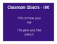 Avancemos 1 Unit 2 Lesson 2 Jeopardy-Style Review Game