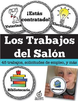 Spanish Classroom Jobs (Editable)